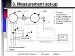 3 measurement set up