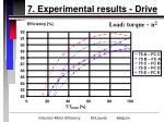 7 experimental results drive28