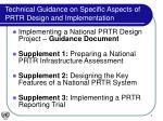 technical guidance on specific aspects of prtr design and implementation