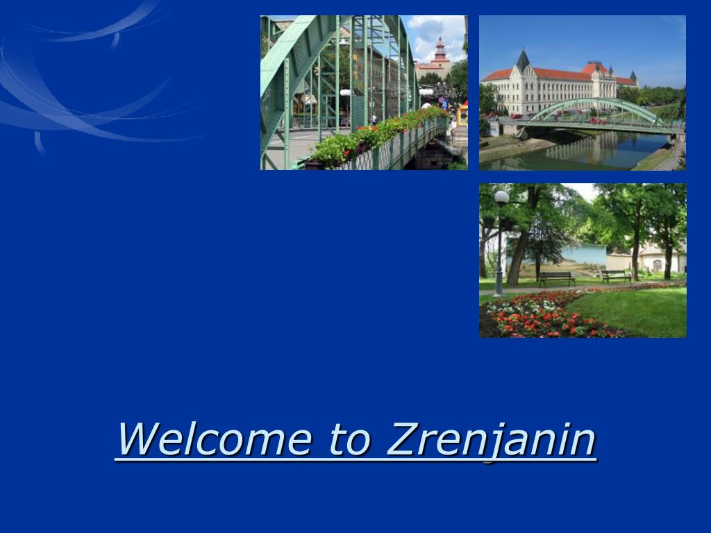 welcome to zrenjanin l.