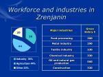 workforce and industries in zrenjanin