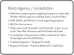 multi agency jurisdiction