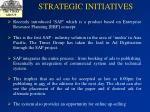 strategic initiatives46