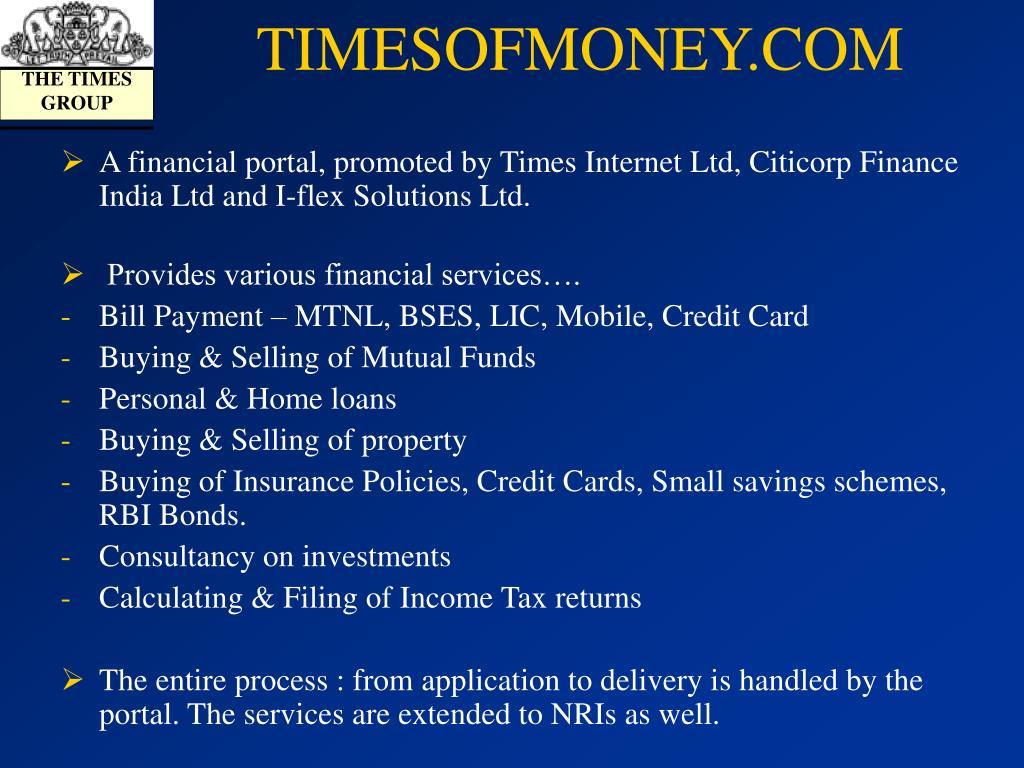 TIMESOFMONEY.COM