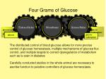 four grams of glucose
