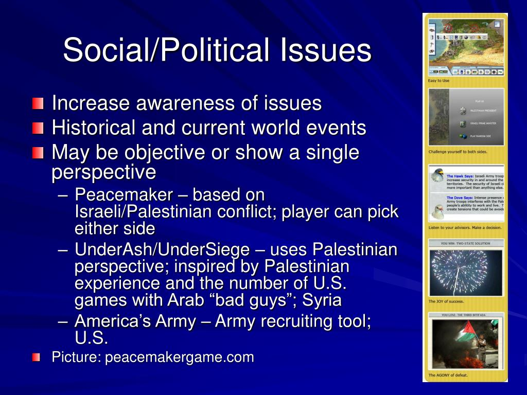 Social/Political Issues