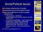 social political issues