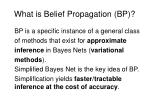 what is belief propagation bp