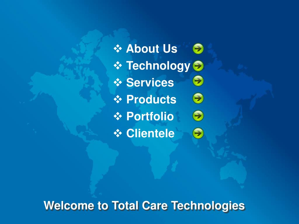 Welcome to Total Care Technologies
