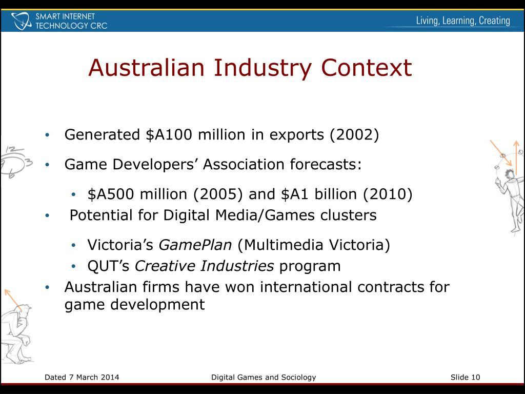Australian Industry Context