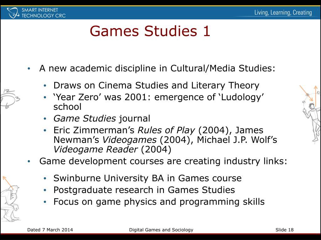 Games Studies 1