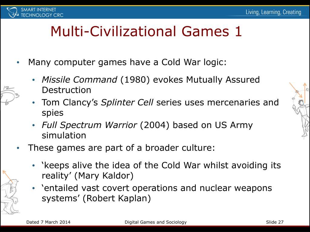Multi-Civilizational Games 1