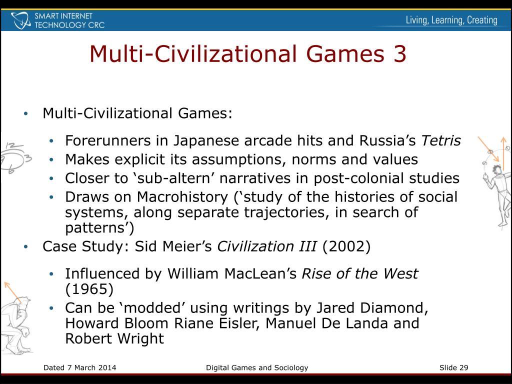 Multi-Civilizational Games 3