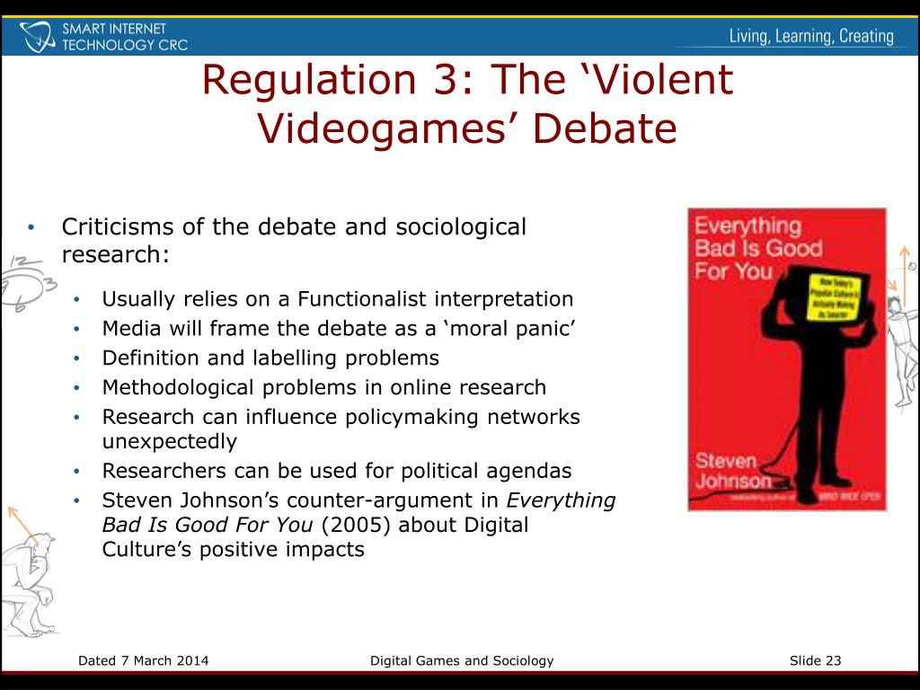 Regulation 3: The 'Violent Videogames' Debate