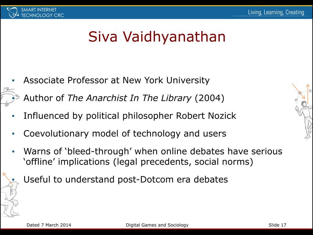 Siva Vaidhyanathan
