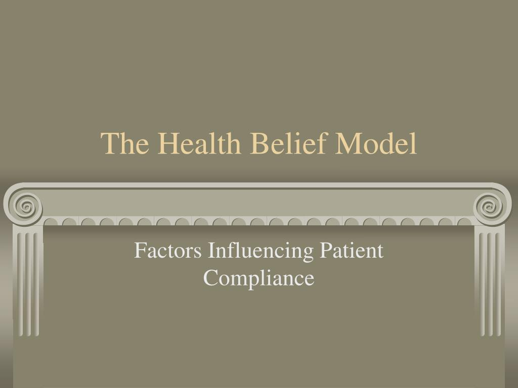 the health belief model l.