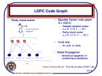 ldpc code graph