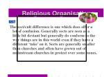 religious organisations35