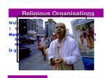 religious organisations39
