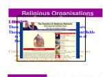 religious organisations44