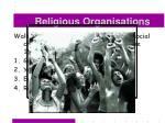 religious organisations50