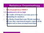 religious organisations54