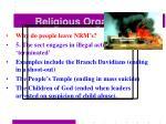 religious organisations57