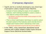 a temporary digression