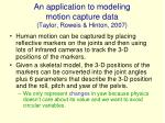 an application to modeling motion capture data taylor roweis hinton 2007