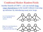 conditional markov random fields