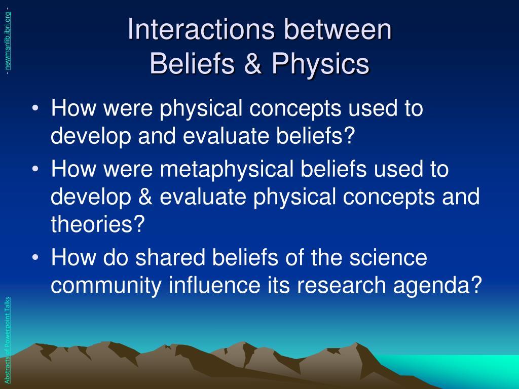 Interactions between