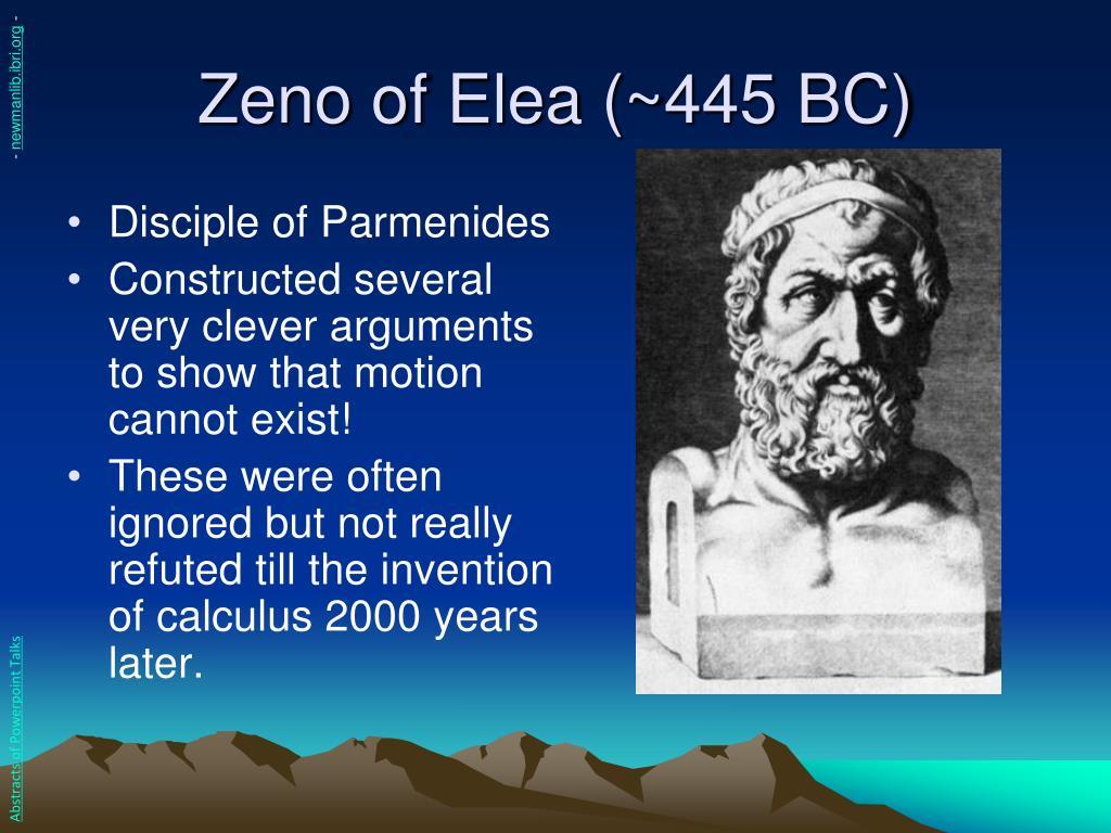 Zeno of Elea (~445 BC)