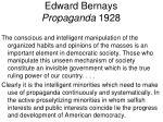 edward bernays propaganda 1928