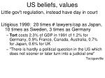 us beliefs values8