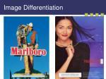 image differentiation