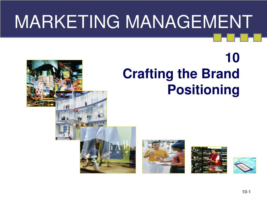 marketing management l.