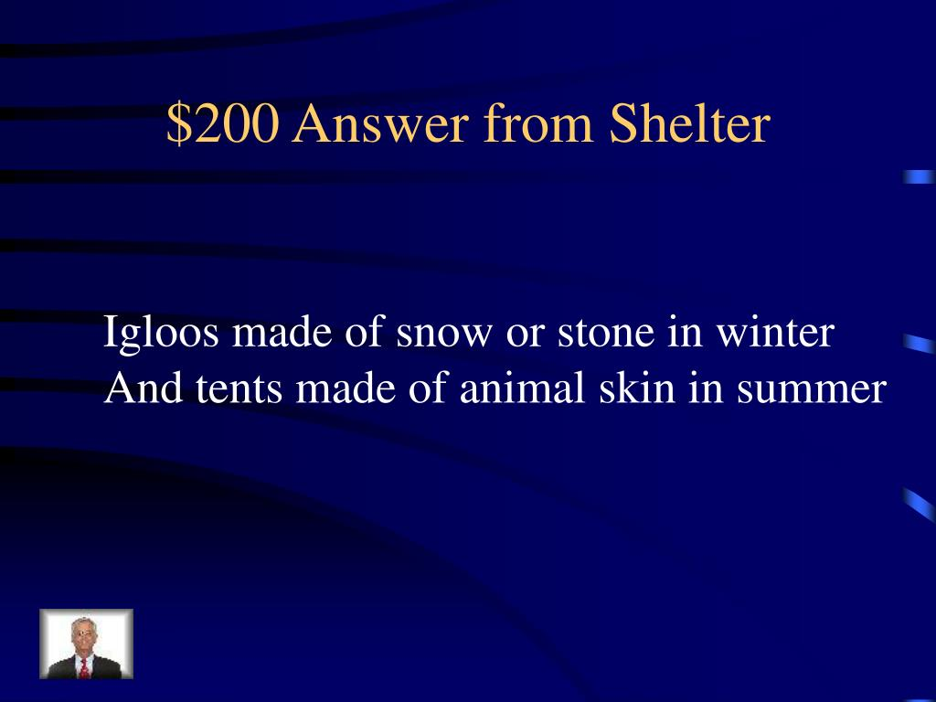 $200 Answer from Shelter