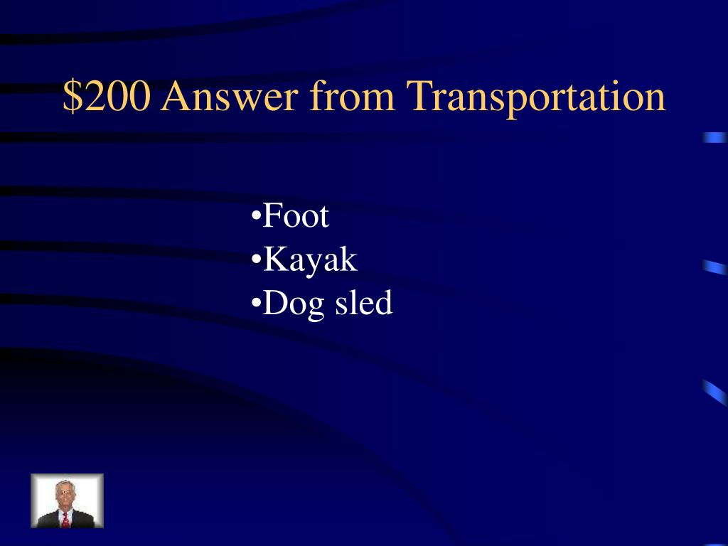 $200 Answer from Transportation