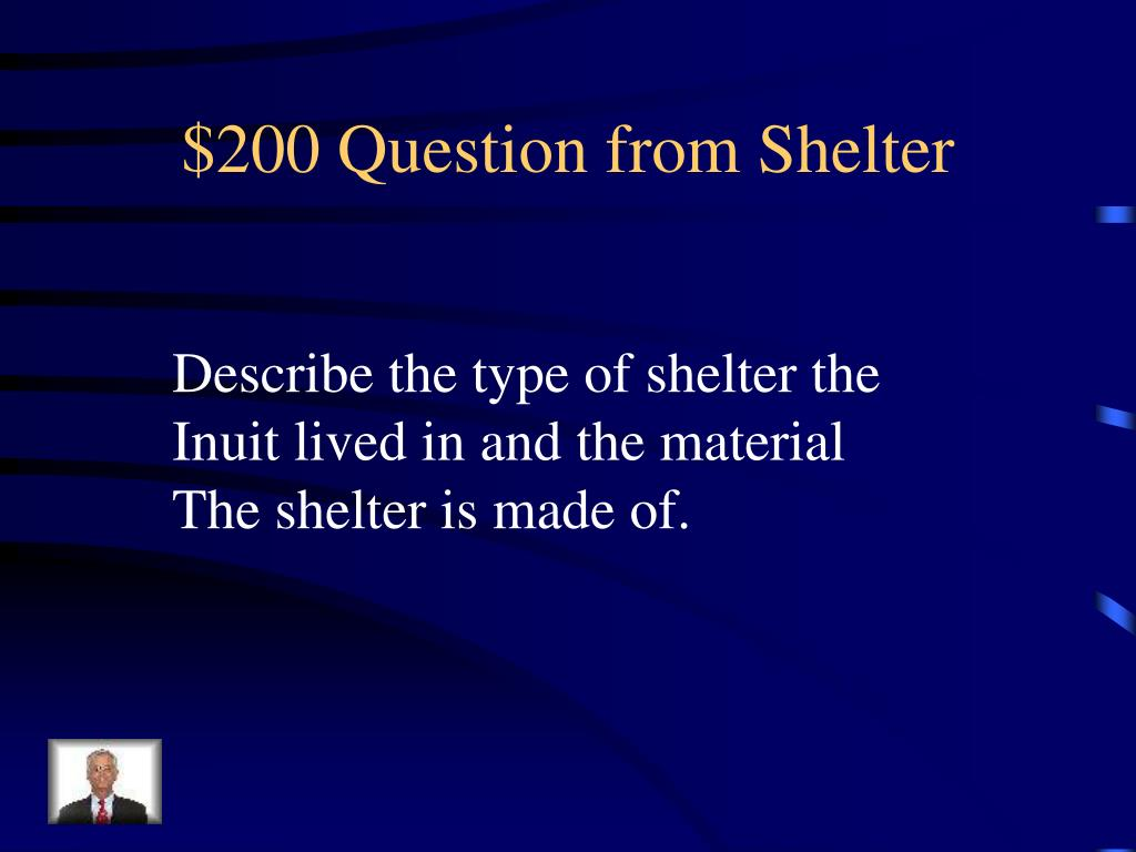 $200 Question from Shelter