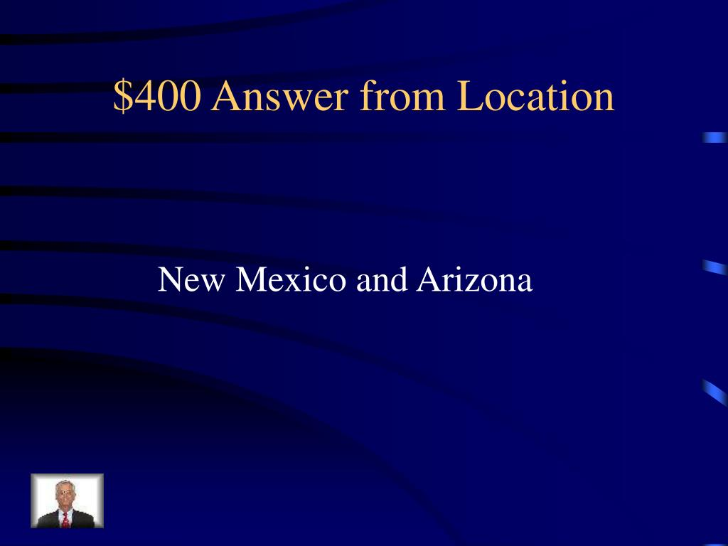 $400 Answer from Location