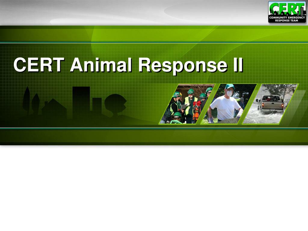 cert animal response ii l.