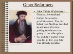 other reformers