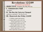 revolutions 12 2 09 http students resa net milewski