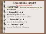 revolutions 12 3 09 http students resa net milewski