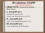 revolutions 12 4 09 http students resa net milewski