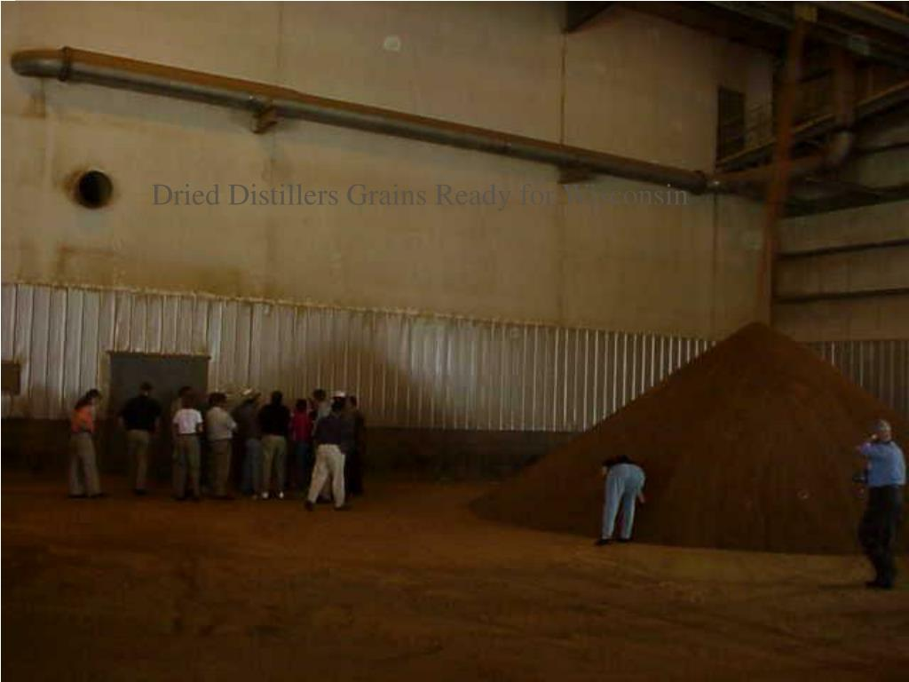 Dried Distillers Grains Ready for Wisconsin