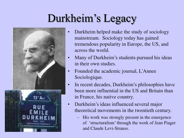 a discussion on emile durkheims studies on the cause of suicide Two decades later, the french sociologist emile durkheim noticed the  hot days  cause the suicide rate to rise, according to a study published.