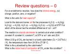 review questions 0