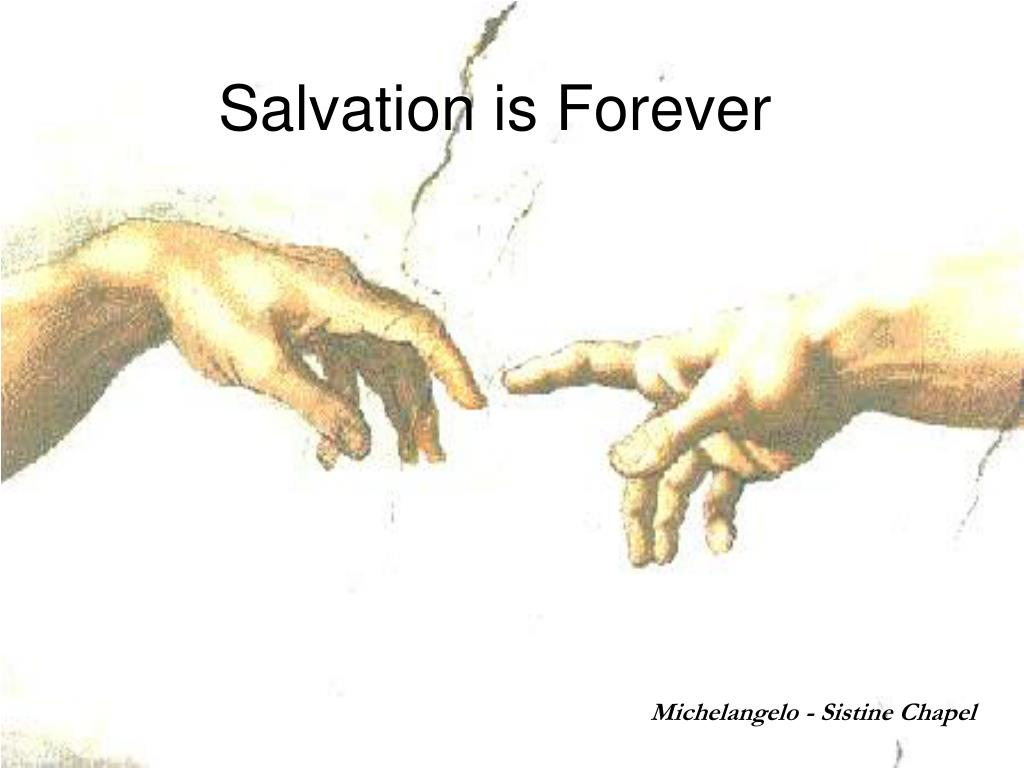 salvation is forever l.