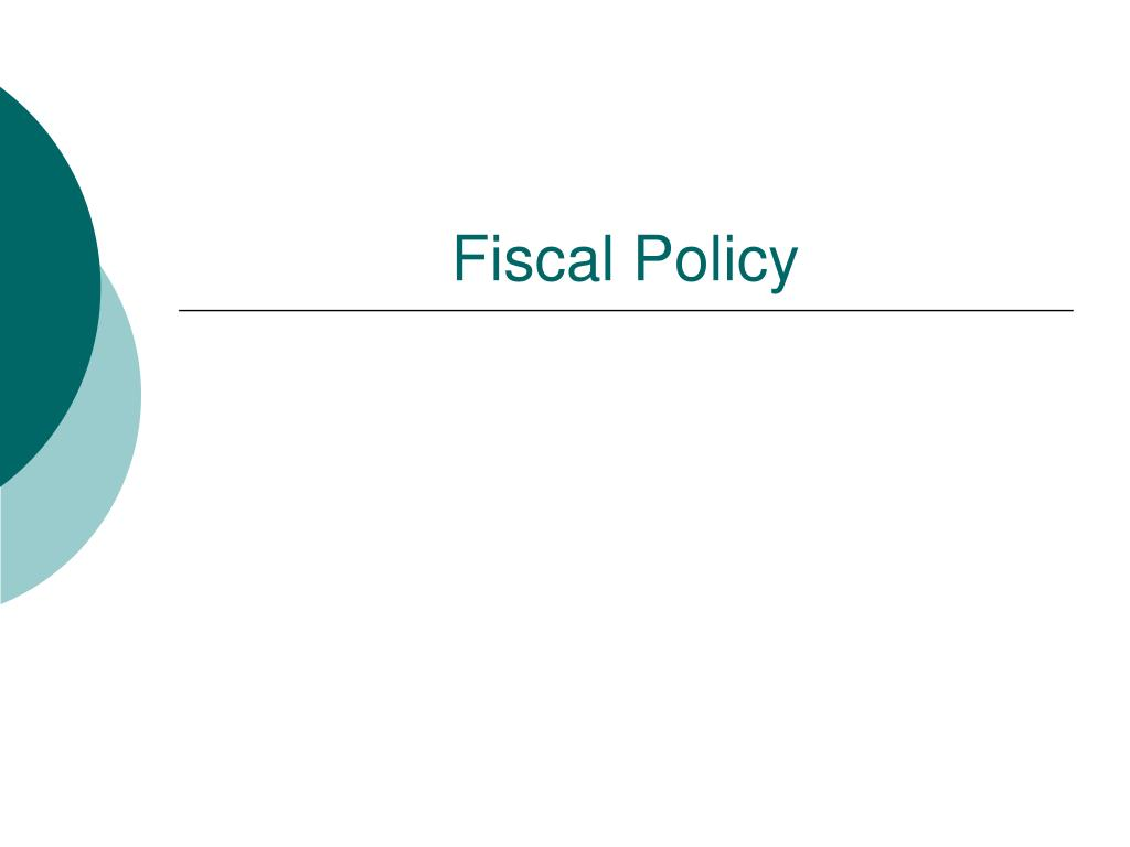fiscal policy l.